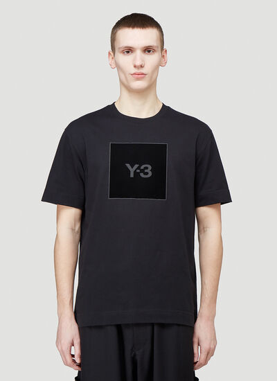 Y-3 Logo-Patch Short-Sleeved T-Shirt